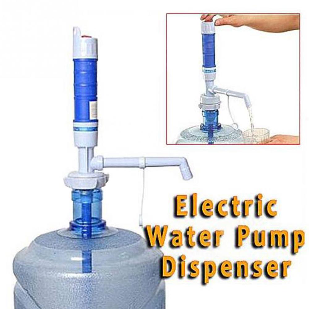 เครื่องปั้มน้ำดื่มอัตโนมัติ ที่ปั้มน้ำมือถือ ที่ปั้มน้ำดื่ม ขวดน้ำ ถังน้ำ Drinking Water Pump Dispenser