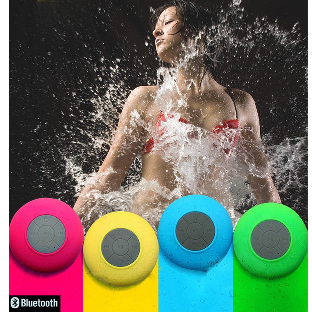 ลำโพงบลูทูท แบบกันน้ำ +สาย USB  +subwoof+ ตัวดูดติด ไกลได้ 10 m