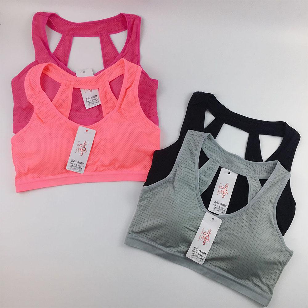 sport bra  รุ่นสวมหัว เซ็ต2ชิ้น   มีฟองน้ำด้านใน ผ้ายืดหยุ่น