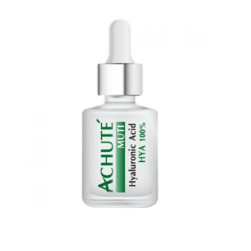 Achute' Hyaluronic Acid ( ฮยารูรอนิกเอสิก ) บำรุงผิวให้ชุ่มชื้น กักเก็บน้ำให้ผิว ลดริ้วรอยแห่งวัย