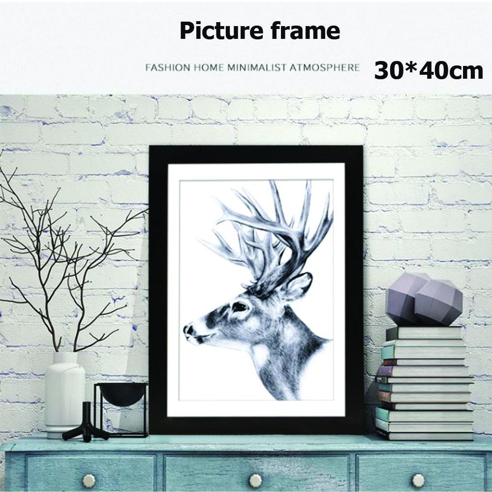 กรอบรูปไม้ สำหรับตั้งโต๊ะและแขวน หรือไว้ใส่ใบประกาษ  A4,30*40