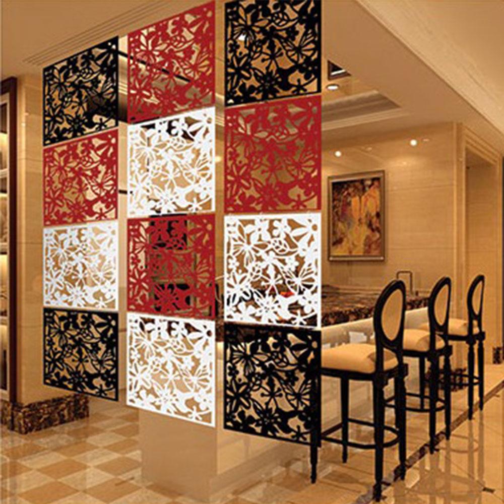 แผ่นตกแต่งห้อง PVC สำหรับกั้นห้อง DIY หลายลาย ขนาด 0.64 ตร.เมตร 1 แพค  มี3สี