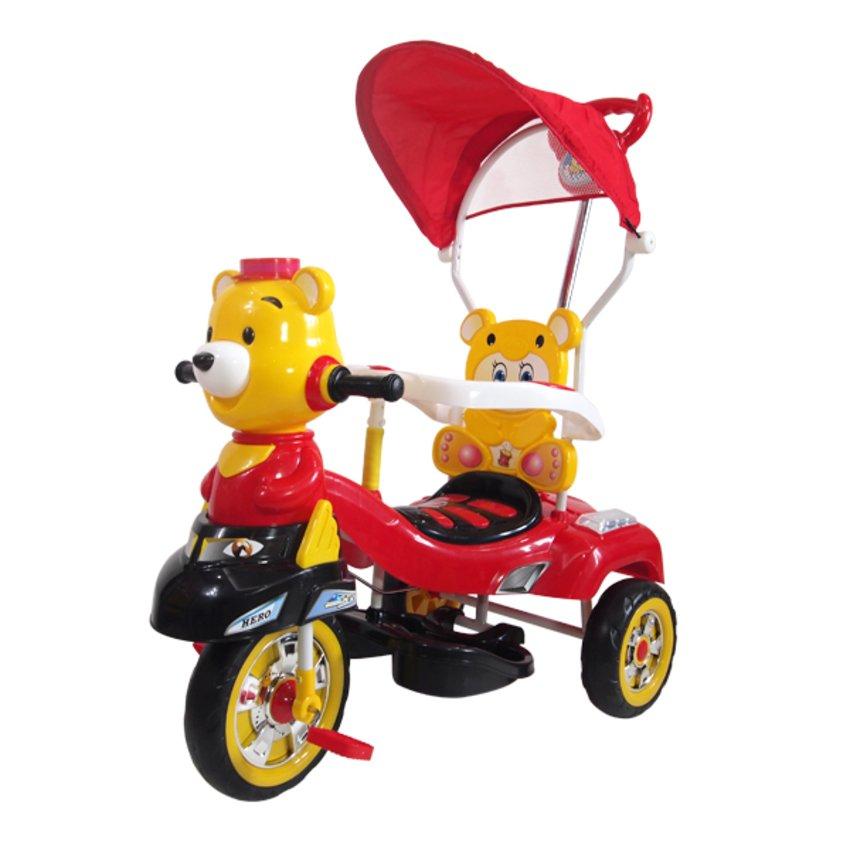 จักรยานปั่นสำหรับเด็กหมีน้อย-สีเหลือง