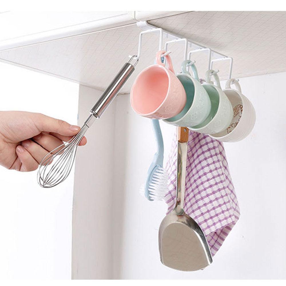 ชุดราวแขวนอเนกประสงค์ ไว้สำหรับ แขวนแก้ว และสิ่งของต่างๆๆ 1 ชุด มี 8 ช่อง