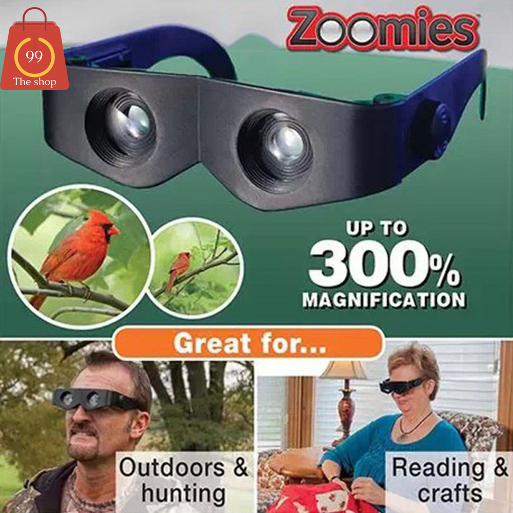 แว่นตาขยายไร้มือจับ ซูมได้ถึง 400 เท่า ไว้ ส่องสัตว์ หรืออ่านหนังสือ