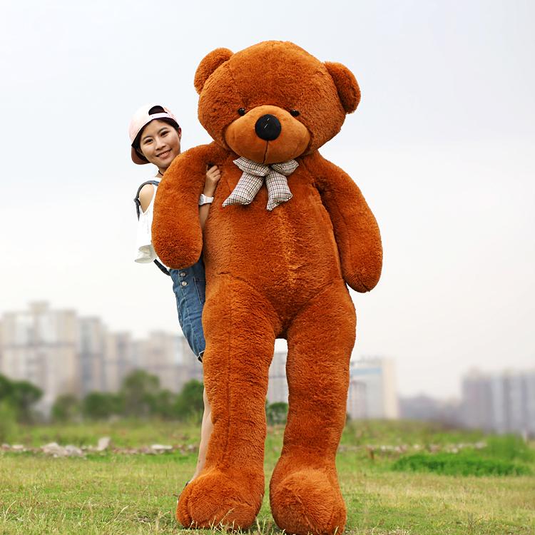 ตุ๊กตาหมี ขนาด 3 เมตร สูงเท่าคน ขนนุ่ม น่ารัก วัดแบบนอน ใหญ่มาก
