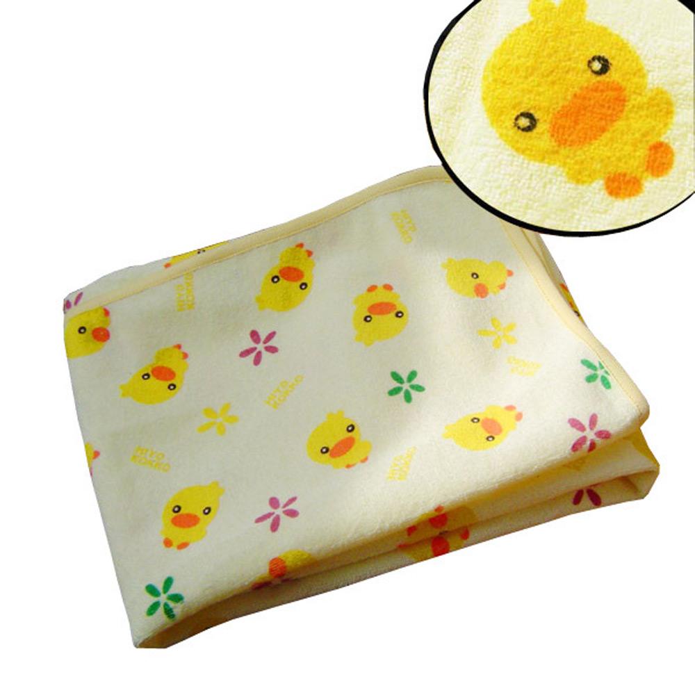 แผ่นรองนอนกันน้ำ รองฉี่กันเปื้อนที่นอน ลายเป็ดน้อยขนาด 60*70 cm