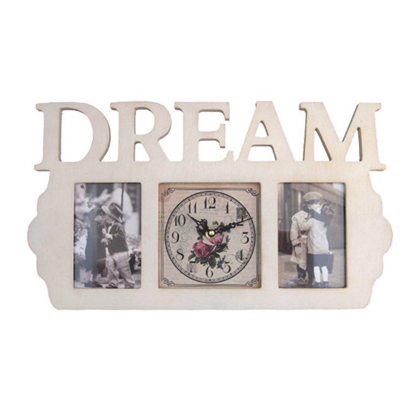 นาฬิการูปตัวหนังสือ DREAM