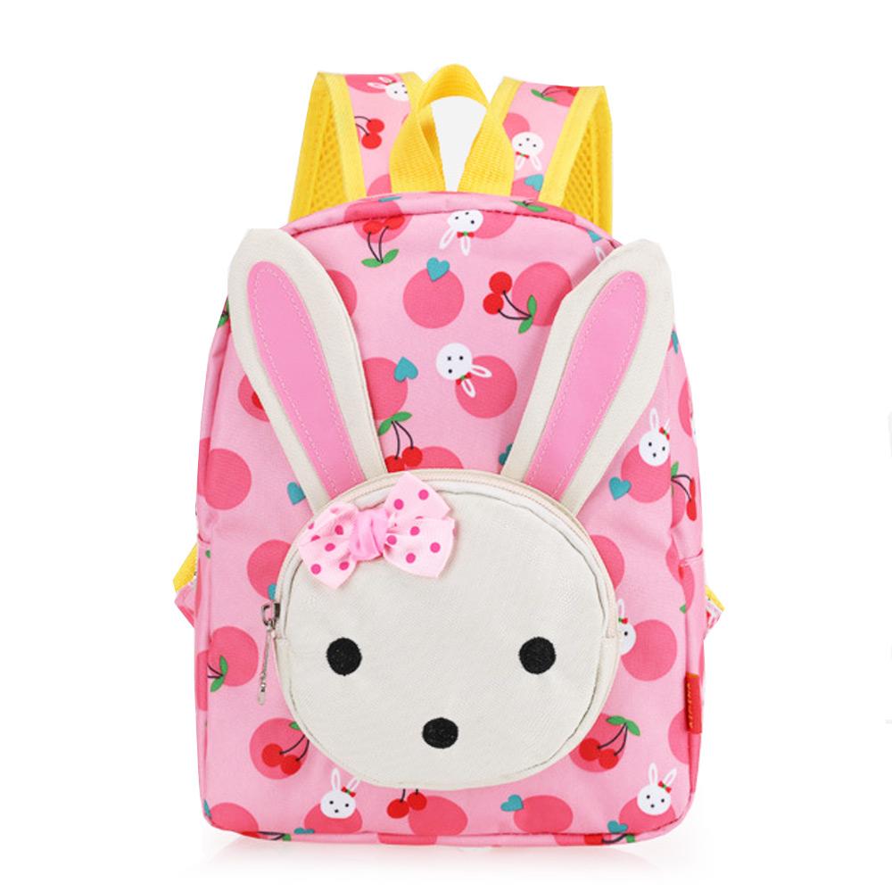 กระเป่าเป้เด็ก ลายกระต่ายน้อย แสนน่ารัก ผ้ากันน้ำ สำหรับเด็กๆๆไปโรงเรียน