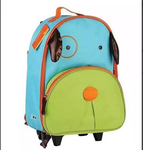 กระเป๋าเป้+ล้อลาก สำหรับเด็กไปโรงเรียนหมาน้อย
