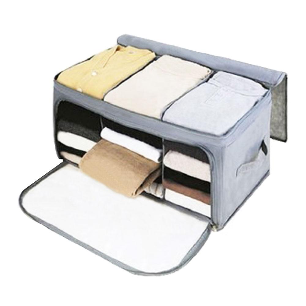 กล่องเก็บผ้าแบบ 3ช่อง