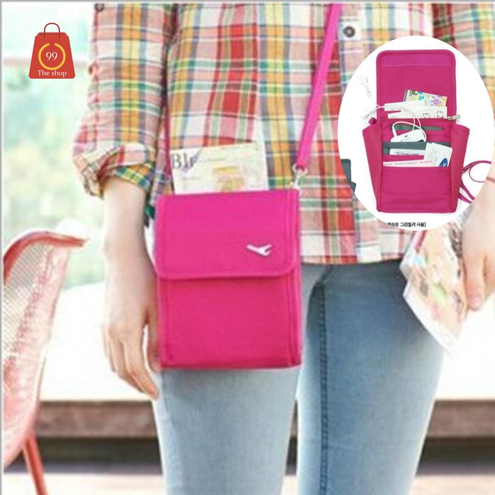 กระเป๋าTravel Mini  Bag2 แบบสีสะพายได้ อเนกประสงค์