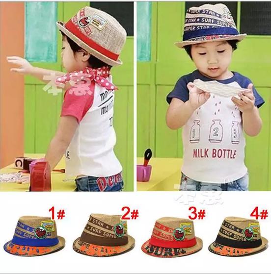 หมวกเด็ก แบบ ผ้าป่าน น่ารักมาก