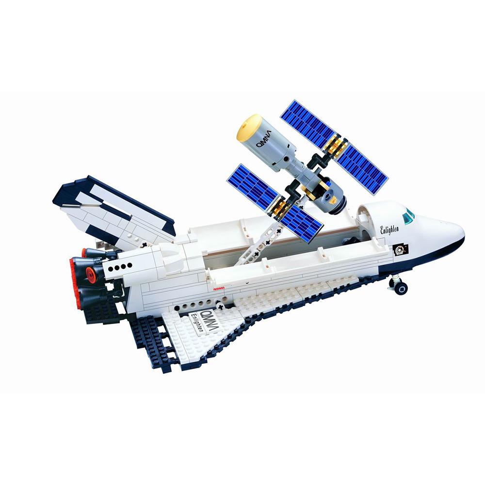 ชุดตัวต่อยานอวกาศ  593 ชิ้น