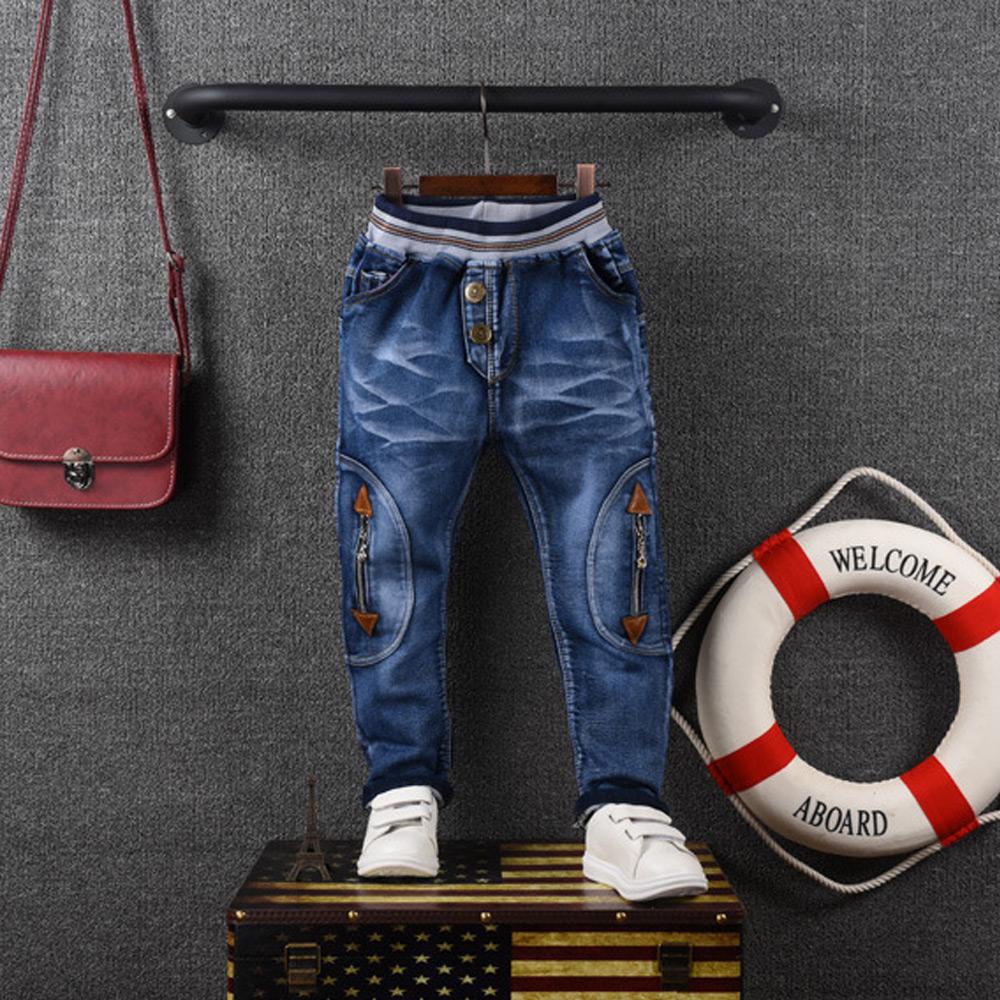 กางเกงยีนส์เด็ก ผ้าเนื้อดี สำหรับเด็กสูง 120-150 cm 7-12  ปี