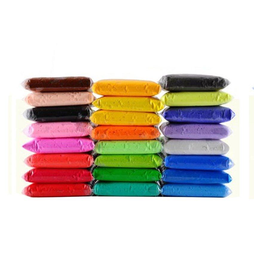 ดินปั้นโพลิเมอร์ สำหรับงานประดิษฐ์ต่างๆ 50 กรัม คละ 22 สี