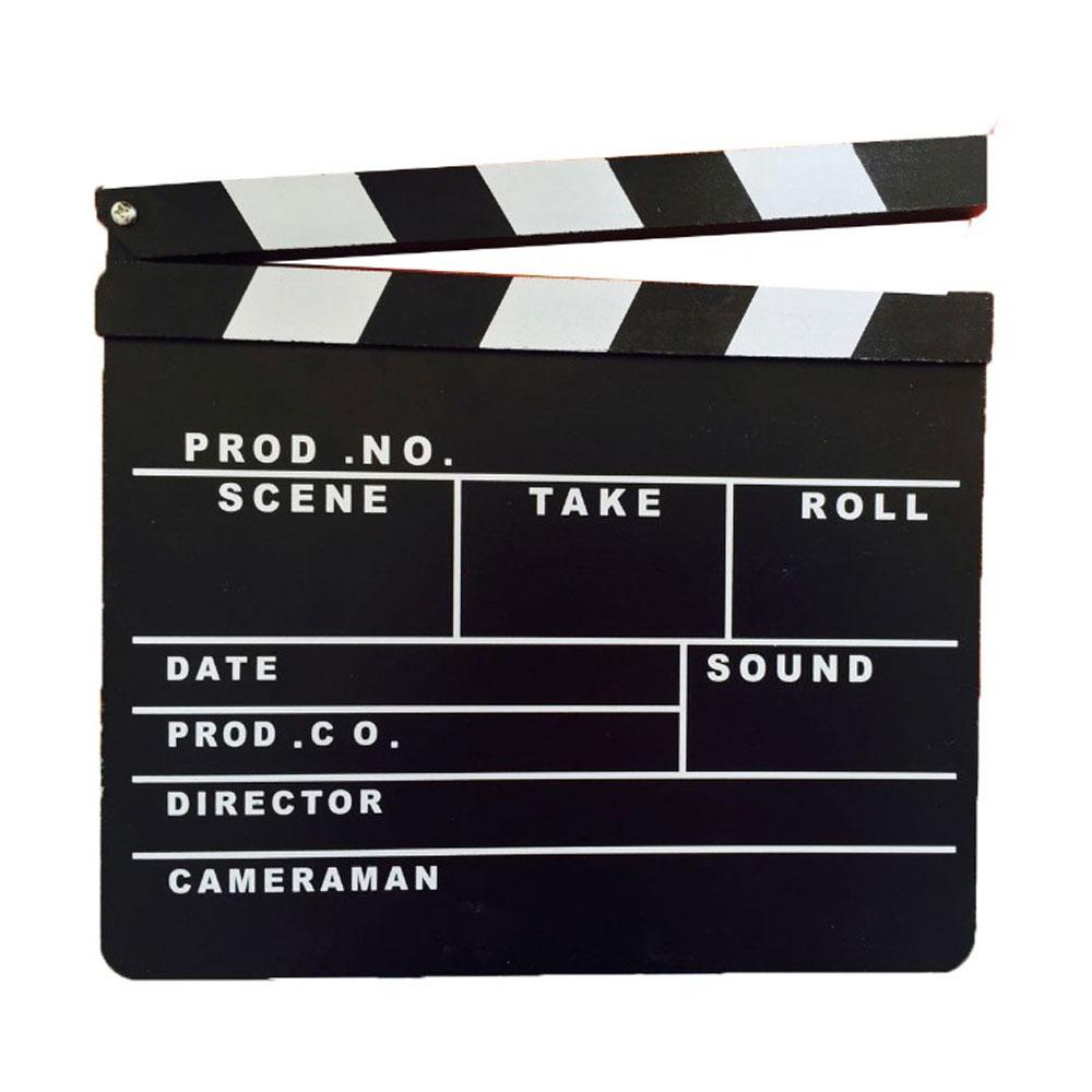 ป้าย Slate film สำหรับถ่ายหนัง