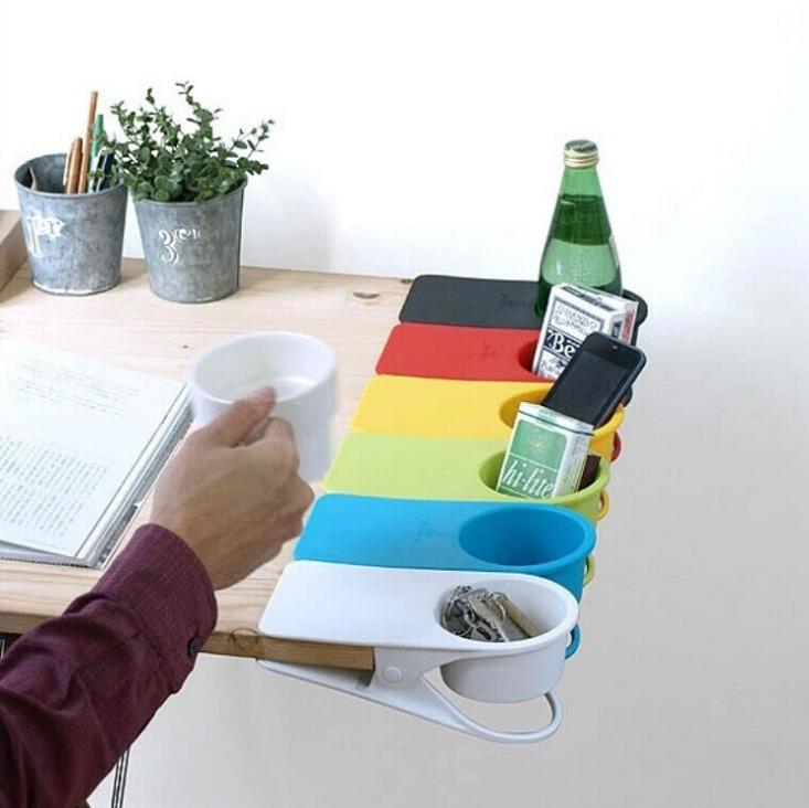 ที่วางแก้วแบบหนีบ ไซต์จัมโบ็ หนีบได้ทุกที่ โต๊ะประชุมเล็ก โต๊ะคอม โต๊ะทำงาน ไม่เกะกะอีกต่อไป