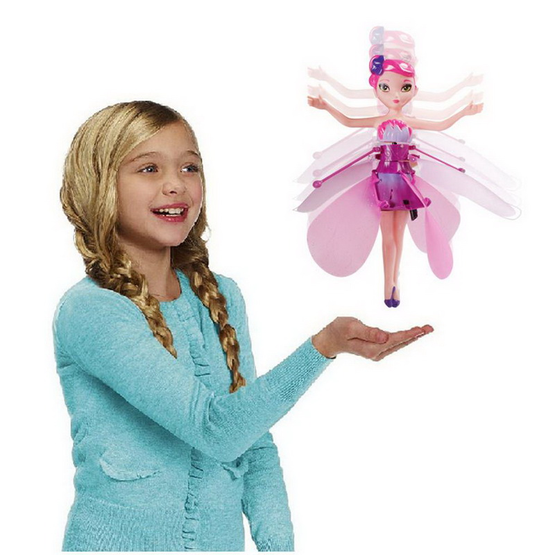 Flying fairy  นางฟ้าน้อยบินได้ แค่ใช้มือปัดง่ายๆ แต่สนุก แบบไม่มีฐาน