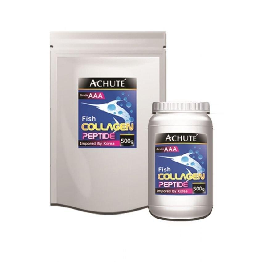 Achute collagen peptide วัตถุดิบอาหารเสริม เพรียว คอลลาเจนเป็ปไทด์( ขนาด 250,000 mg.) ทานได้นาน 25 วัน