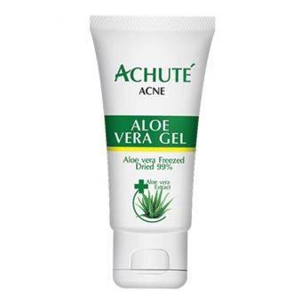 Achute' Aloe Vera Gel เจลว่านหางจระเข้ ลดอาการระคายเคืองรอยแเดง ทำให้ผิวเย็นสบายชุ่มชื้น สมานแผลให้หายไว