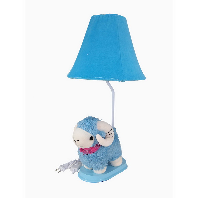 โคมไฟตั้งโต๊ะ  รูป แกัะน้อยสีฟ้า