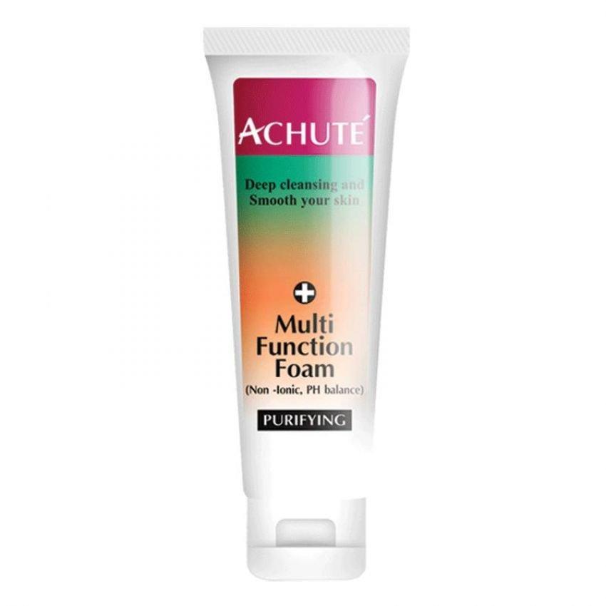 Achute' Multi Function Foam ( โฟมล้างหน้า ) สูตรPH.Balance ไม่ทำให้ผิวแห้งตึง
