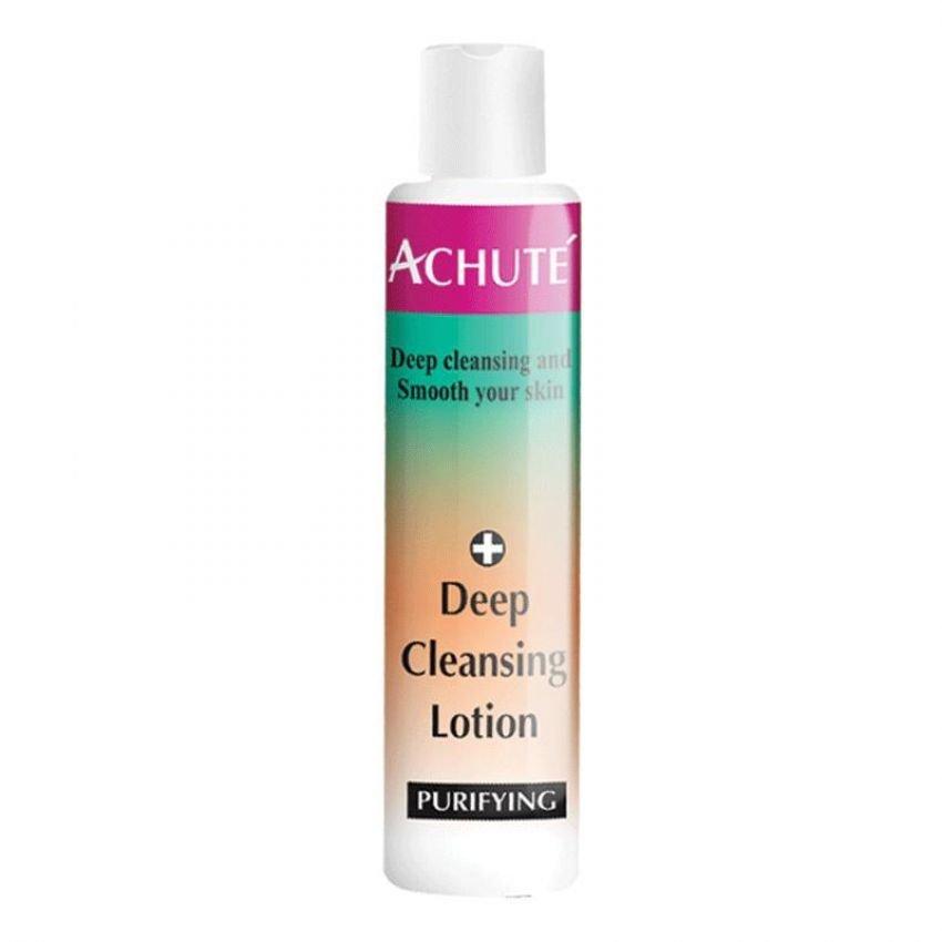 Achute'  Deep Cleansing Lotion โลชั่นน้ำนมเช็ดเครื่องสำอาง ทำความสะอาดผิวได้อย่างหมดจด