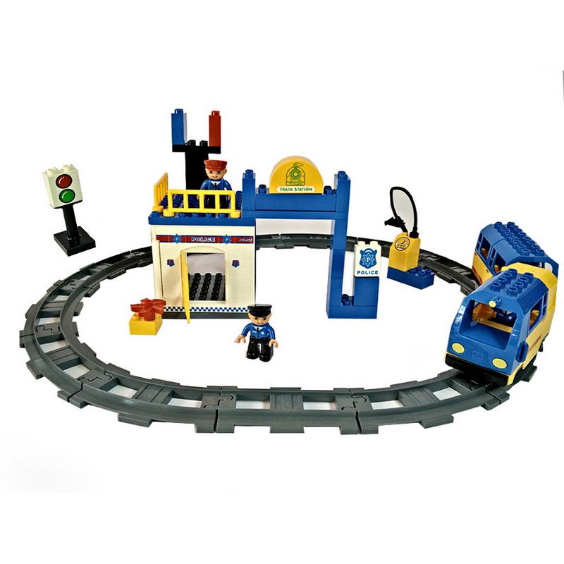 ชุดตัวต่อรถไฟกับนายสถานี ชุดใหญ่