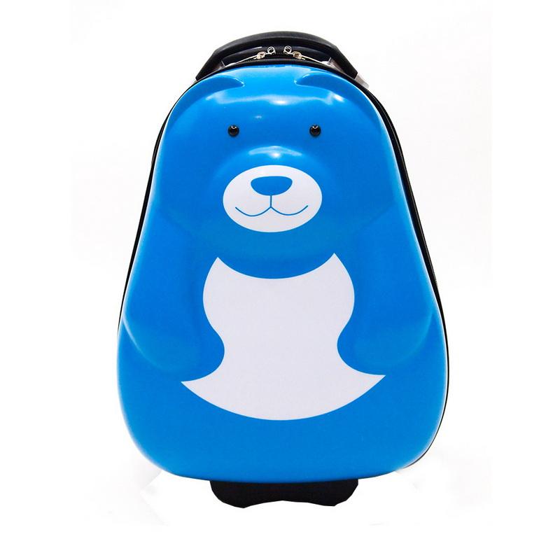 กระเป๋าล้อลาก  รูปหมีสีฟ้า ทำจาก ABS