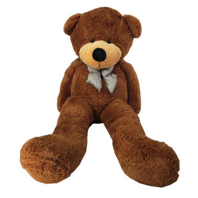 ตุ๊กตาหมีตัวใหญ๋ เท่าคน  แบบโบว์สีน้ำเงิน    ไซต์ 1.6 เมตร ขนฟู เนื้อแน่นหน้ากอด  ราคาส่ง