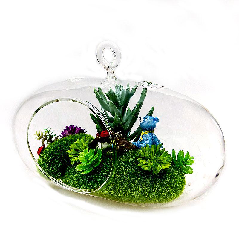 Mini Garden in ball glass  จัดสวนสวยเล็กๆ ไว้ในบ้านคุณ สวยเก๋ ไม่เหมือนใคร