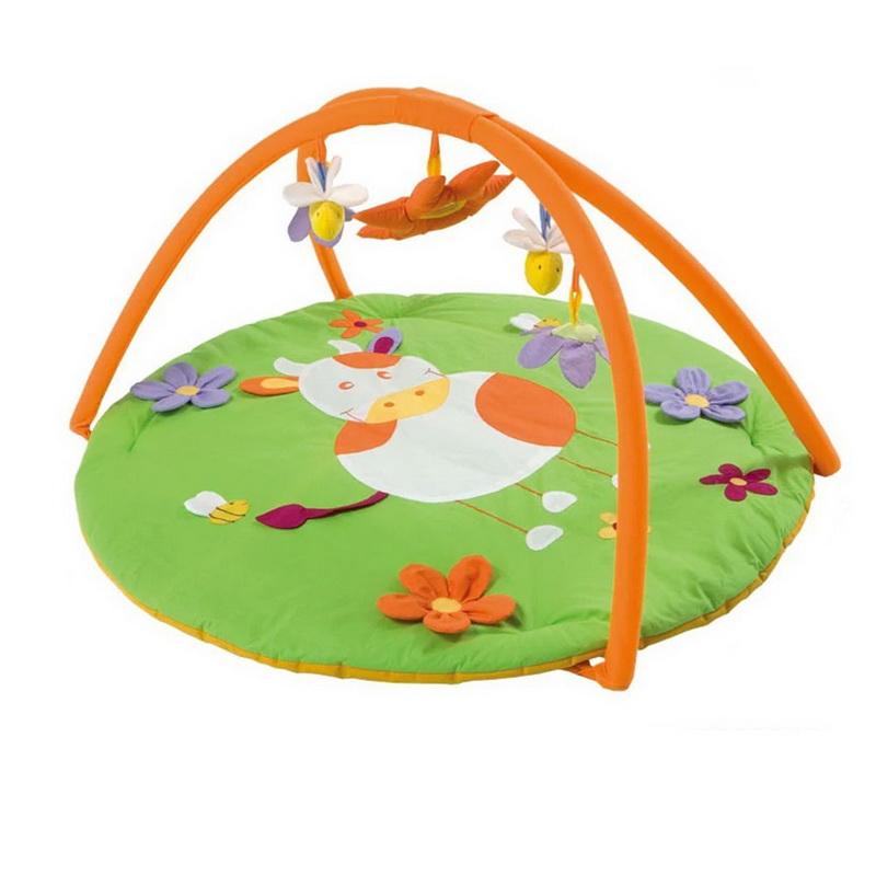 play Gym ที่นอนเด็กกระตุ้นพัมนาการ สำหรับเด็กเล็ก ลายวัวน้อย