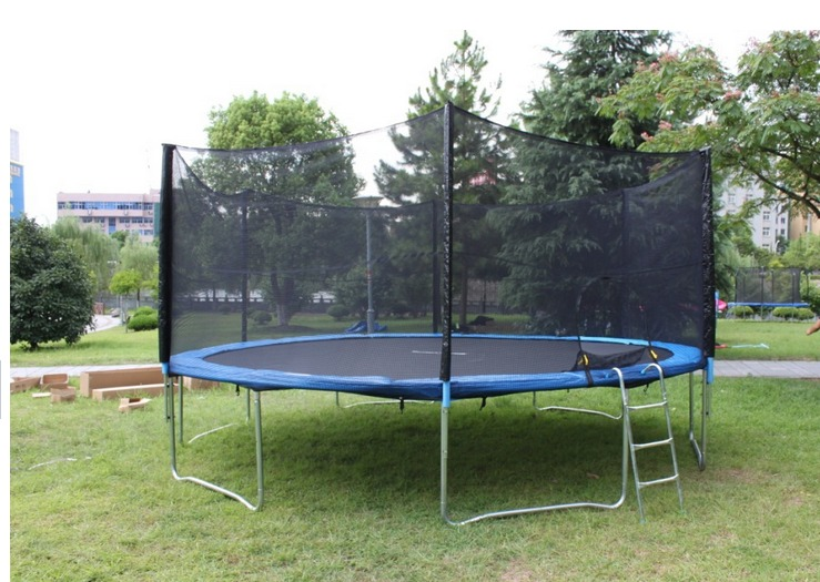 แทรมโพลีน  trampoline  size : 3.05   เมตร   เล่นได้ 3 คน   preorder