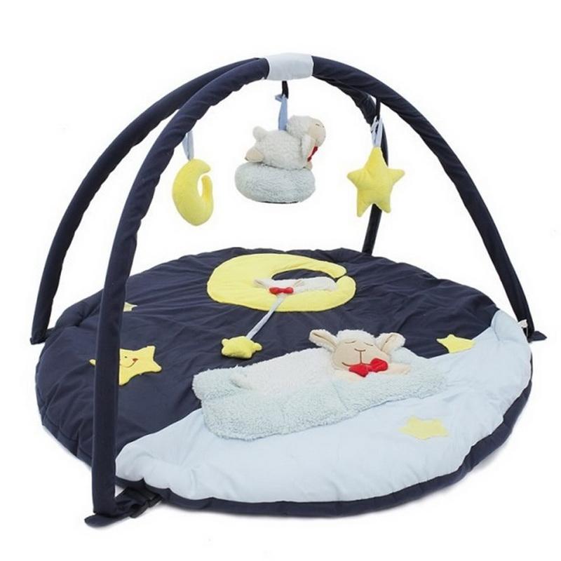 Play Gym  ที่นอนเด็กกระตุ้นพัฒการ การมองเห็นและได้ยิน 0-12 เดือน ส่งฟรี