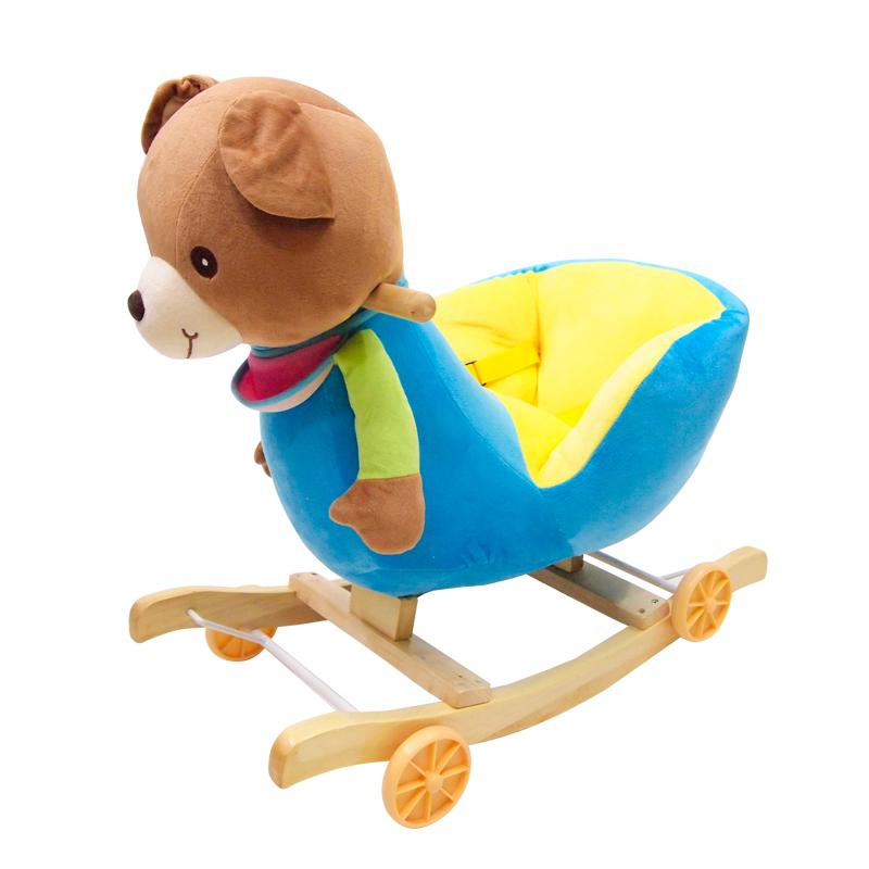 ม้าโยกเยก+รถขาไถ ตุ๊กตารูปหมีน้อย แสนนุ่ม