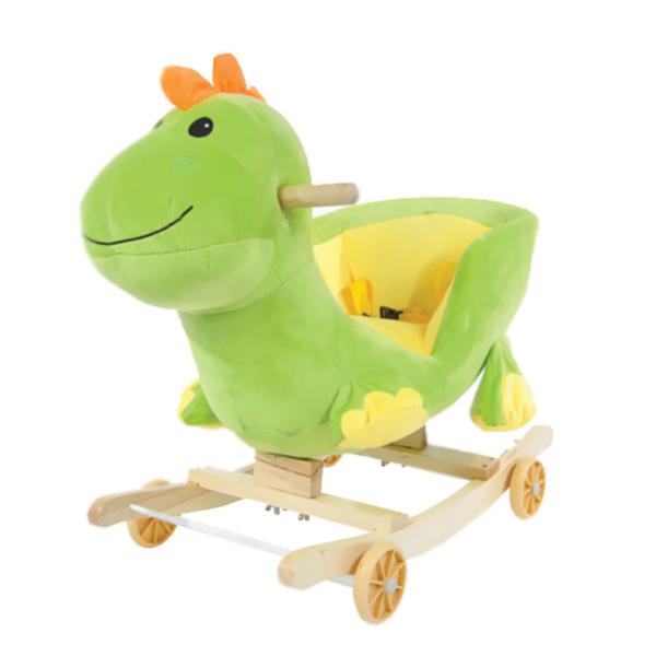 ม้าโยกเยก +รถขาไถ ตุ๊กตารูปไดโนเสาร์ แสนนุ่ม