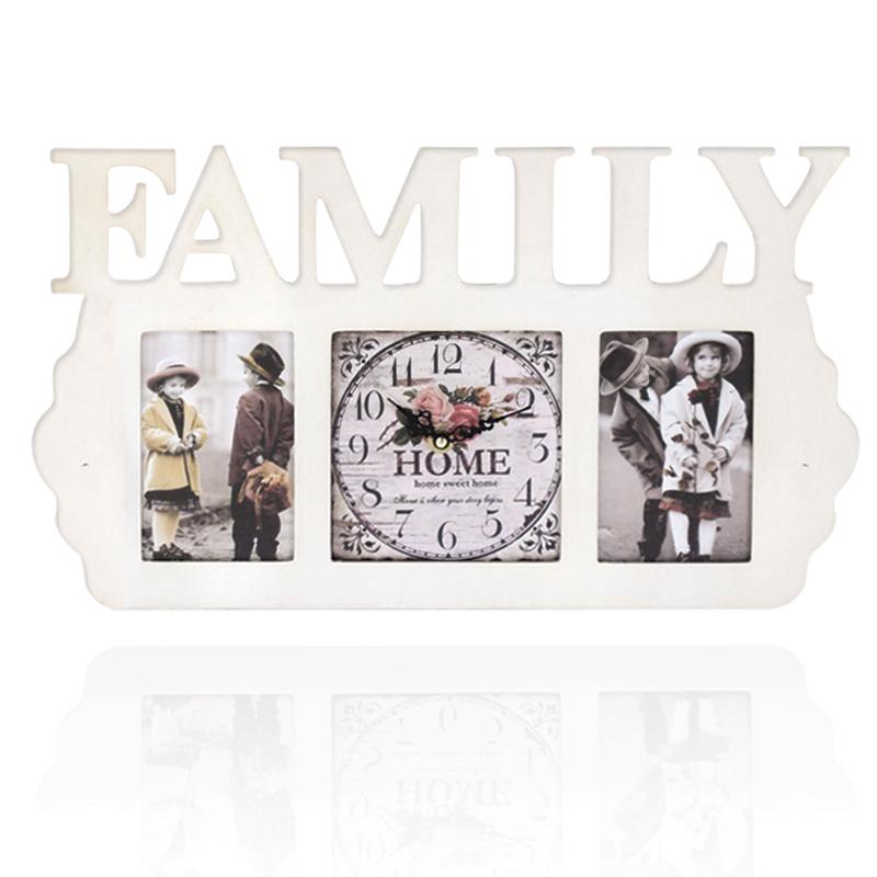 นาฬิการูปตัวหนังสือ Family